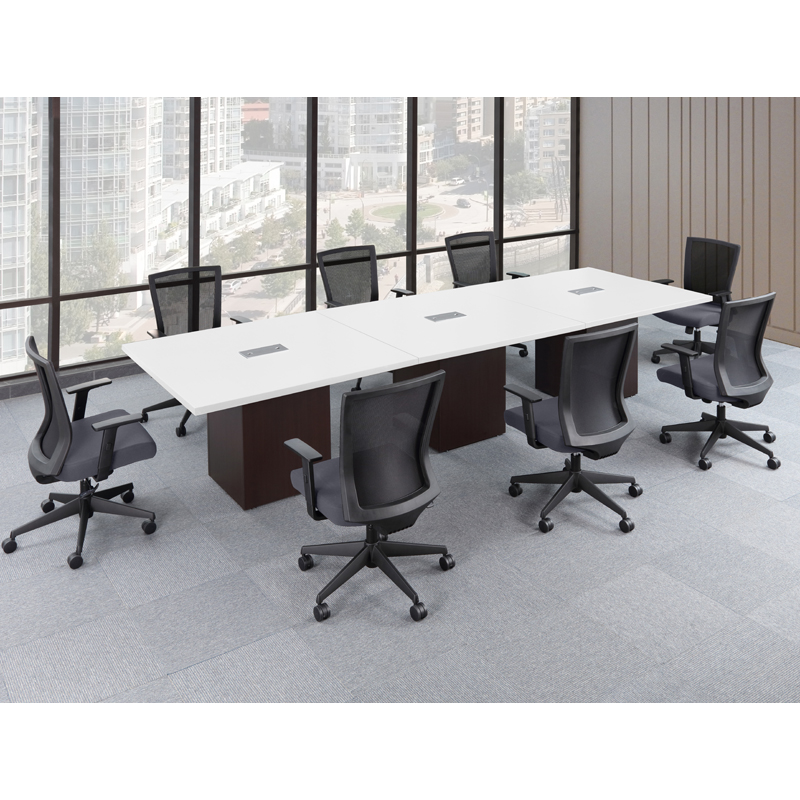 Laminate Cube Conference Tables - Gray conference table