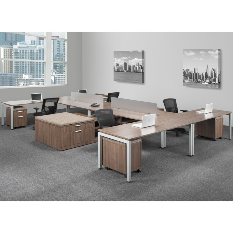 Home Office Sets Office Furniture Elements: Elements Plus Shared Series